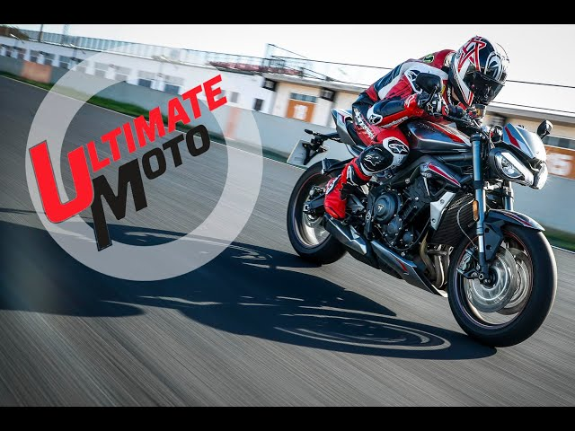 2020 Triumph Street Triple 765 RS First Ride Review | Ultimate Motorcycling