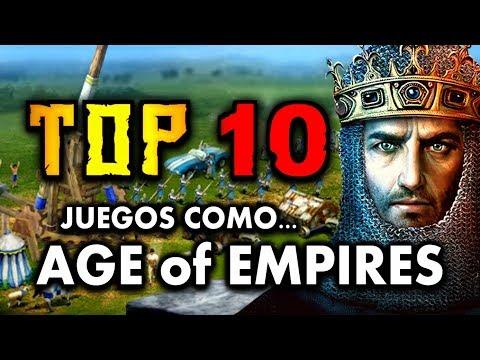 TOP 10 JUEGOS COMO AGE OF EMPIRES