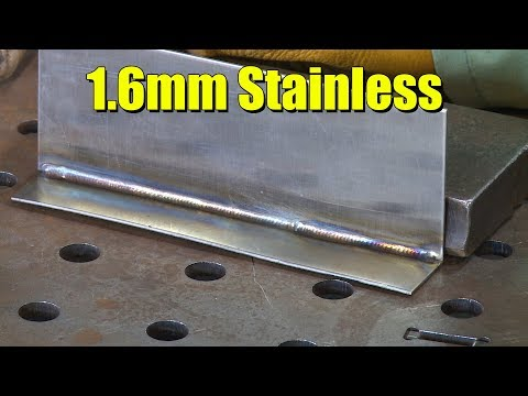🔥  TIG Welding 1.6mm Stainless Fillets (Viewer Request)