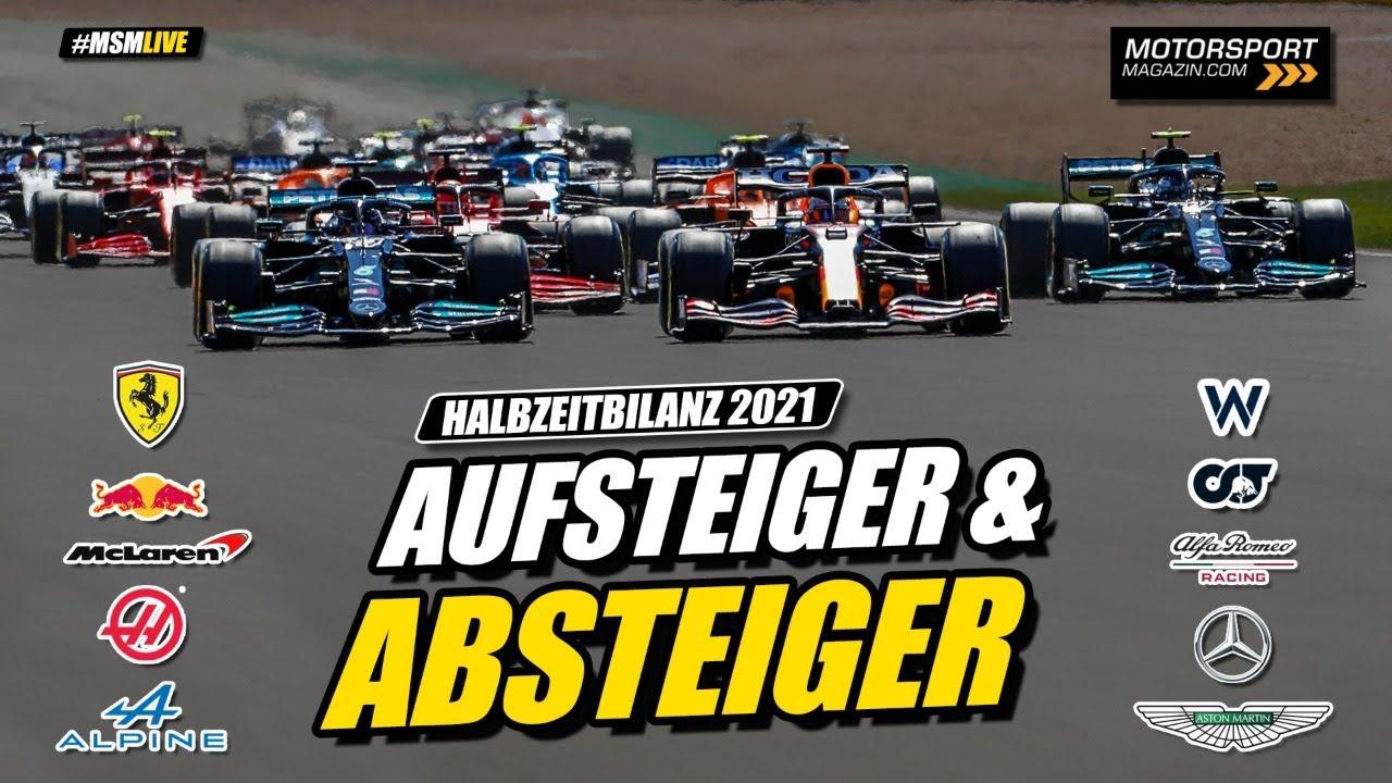 Download Formel 1 2021: Die große Halbzeitbilanz - Von Vettel über Alonso bis Hamilton