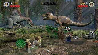 Lego Jurassic World Gameplay and Missions (Cheat Codes) **Wii U**
