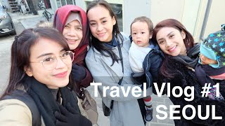 Gambar cover ✈ Travel Vlog #1: Seoul 🏘 Pake AIRBNB? (Room Tour, Review), Travelling With Kids 👨‍👩‍👧‍👦