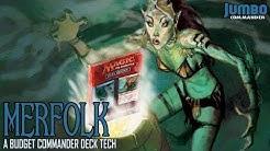Merfolk Tribal Budget Commander Deck Tech