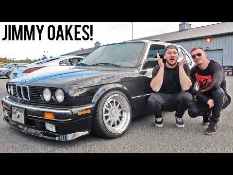 Drifting my first E30 BMW!