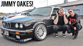 Drifting my first E30 BMW!