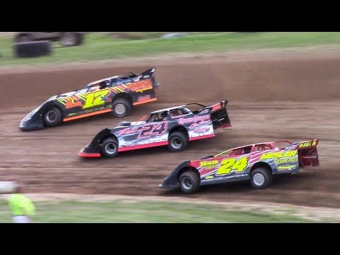 RUSH Crate Late Model Heat One | McKean County Family Raceway | 6-16-18