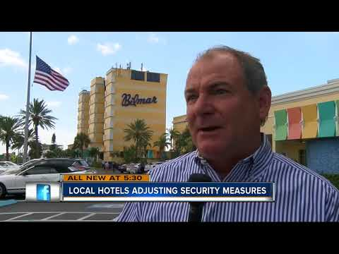 Tampa Bay hotels beef up security after Las Vegas shooting