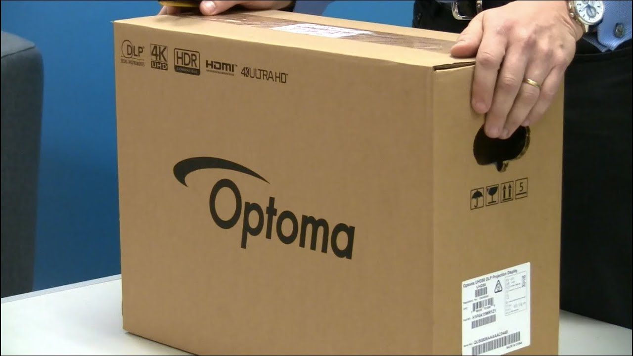 Optoma UHD50 Unboxing