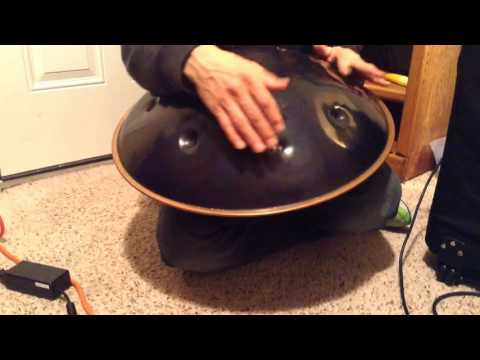 Bellart Bell Art hand pan handpan for sale on e-bay sorry about bad playing