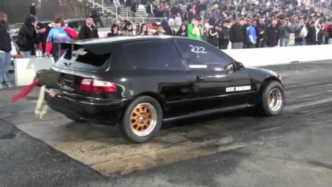 Nyce1s Ccc Racing Sfwd Turbo Honda Civic Eg Ready For