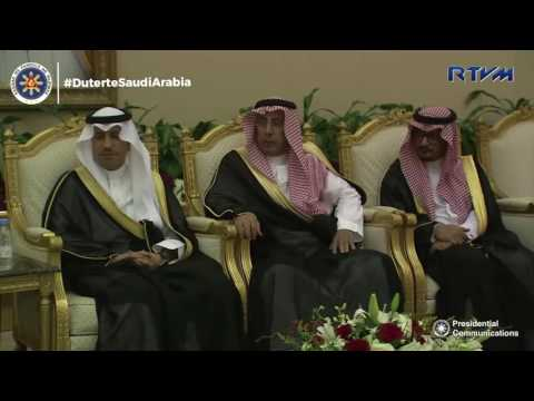 Arrival at Riyadh, Kingdom of Saudi Arabia 4/10/2017