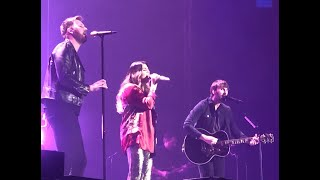 "Lady Antebellum ""What If I Never Get Over You"" LIVE at C2C Dublin"