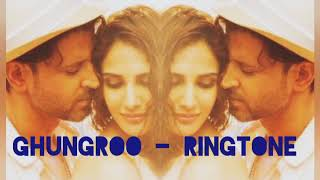 War ghungroo ringtone subscribe now: https://goo.gl/xs3mry 🔔 stay updated! with #hrithikroshan & #vaanikapoor on the dance floor, sparks will fly and how! he...
