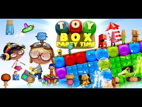 Toy Box Party Blast Time – Match Crush Toon Cubes 1