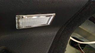 Рассеиватель фонаря освещения салона багажника Daewoo Matiz