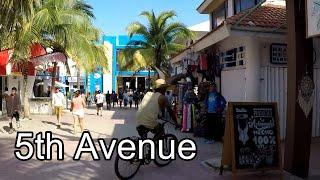 5th Avenue, Playa del Carmen, Mexico | Walking Tour