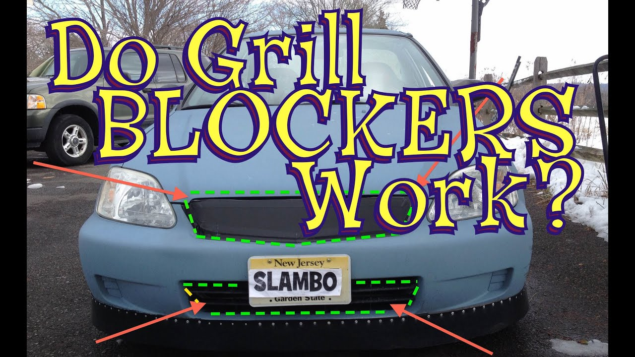 Grill Blockers for More MPG? - Honda Civic Build - Ain\'t Fuelin ...
