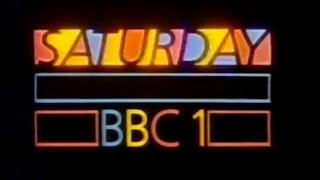 BBC1 Saturday trailer - Tripods titles - 1984