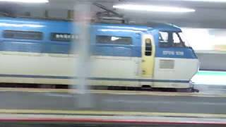 JR貨物 EF66-109号機 貨物列車 JR西日本 223系2000番台 普通 姫路行き  南草津駅  膳所駅  20170523