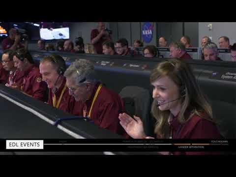 NASA Lands InSight on Mars