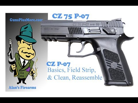 CZ P-07 Clean, Lube, & Reassemble