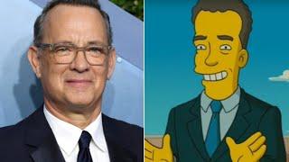 """Люди считают, что """"Симпсоны"""" предсказали заболевание Тома Хэнкса"""