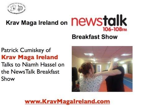 Self Defence Class review by Newstalk Radio with Krav Maga Ireland Self Defence training