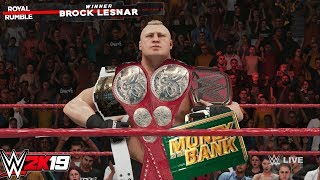 WWE 2K19: What Happens If You Win EVERYTHING Possible (Titles, Royal Rumble, MITB)