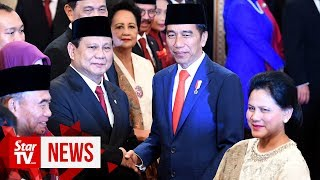Jokowi on new defence minister Subianto: He knows his job
