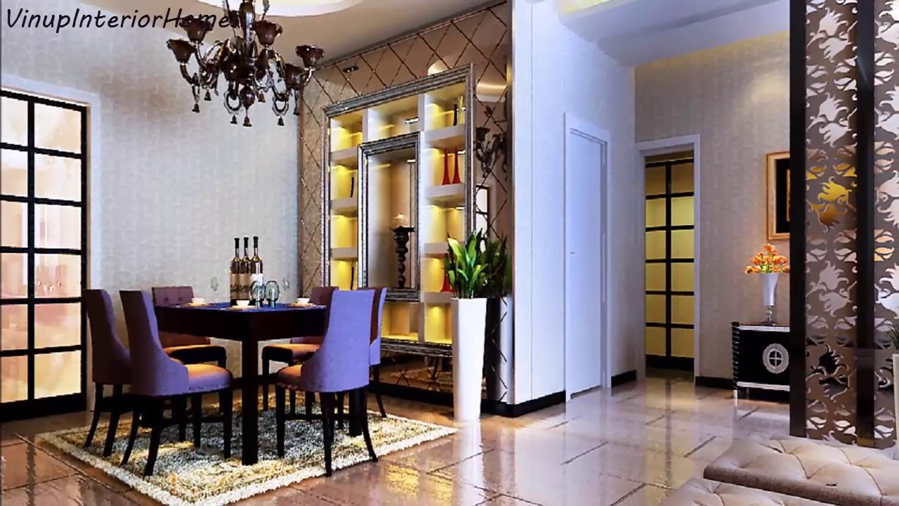 Interior design ideas for dining rooms