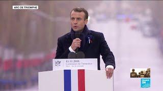 REPLAY - Allocution d'Emmanuel MACRON lors de la commémoration à l'Arc de Triomphe