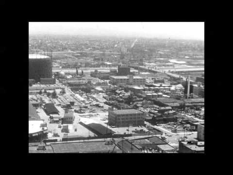 Panoramic Views of Downtown Los Angeles 1957