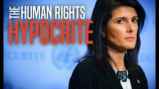 Nikki Haley Confronted Over Israel's Treatment of Peaceful Palestinian Protesters [2018 Report]
