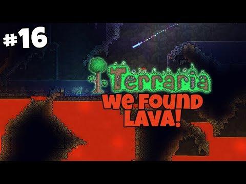 Speedy's Getting Married & We Found Lava - Terraria Gameplay - Part 16