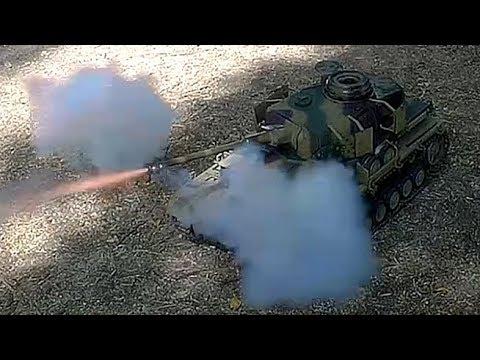 Самодельный действующий танк