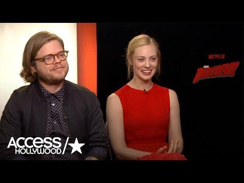 Elden Henson & Deborah Ann Woll Dish On 'Daredevil' Season 2  Access Hollywood
