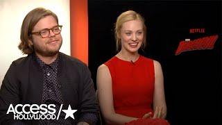 Elden Henson & Deborah Ann Woll Dish On 'Daredevil' Season 2 | Access Hollywood