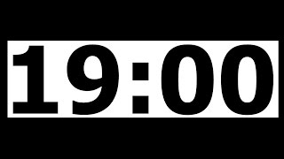 19 Minute Countdown Timer with Alarm