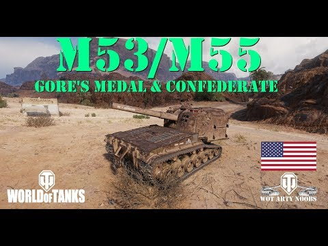 M53/M55 - Gore's Medal & Confederate