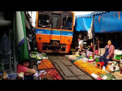 Thailandia treno di