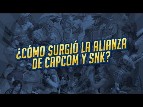 Capcom Vs SNK (El día que trabajaron juntos)
