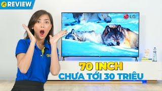 SmartTV LG: chất lượng 4K, kích thước 70 inch mà giá cực hấp dẫn! (70UN7300PTC) • Điện máy XANH