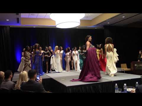 2017 Miss Globe United States  - Preliminary Gown and Swimwear Highlight