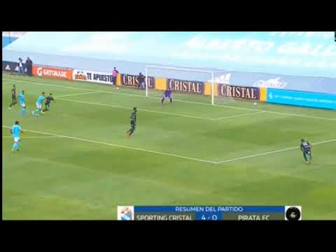 Sporting Cristal 3 vs 0 Real Garcilazo :: VERSUS from YouTube · Duration:  6 minutes 28 seconds