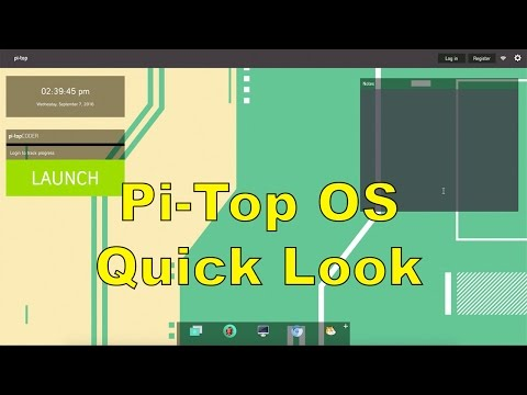 pi-topOS Quick Look Raspberry Pi 3 Operating System