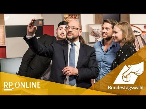 """Youtube-Stars interviewen Martin Schulz: """"Ich habe mal Waschpulver ins Freibad gekippt"""""""