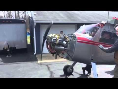 N77220 restoration - First start up of 0-200 engine