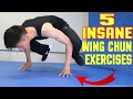5 INSANE Wing Chun Training Exercises & Fitness Workout #2