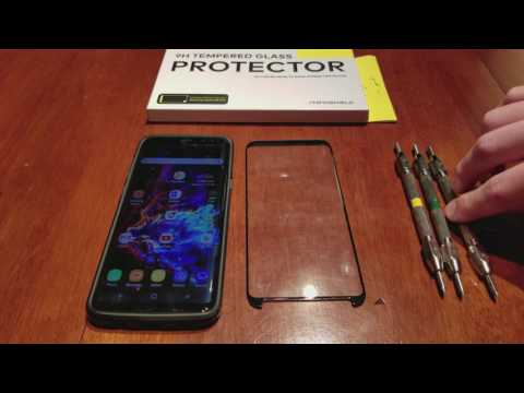 Galaxy S8+ Tempered Glass Protector - Rhino Shield