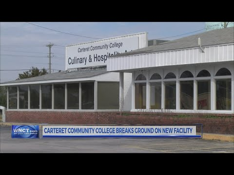 Carteret Community College breaks ground on new facility